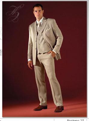 Costume Posatino gris ou beige