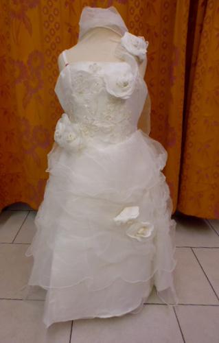 Robe lys410 ivoire