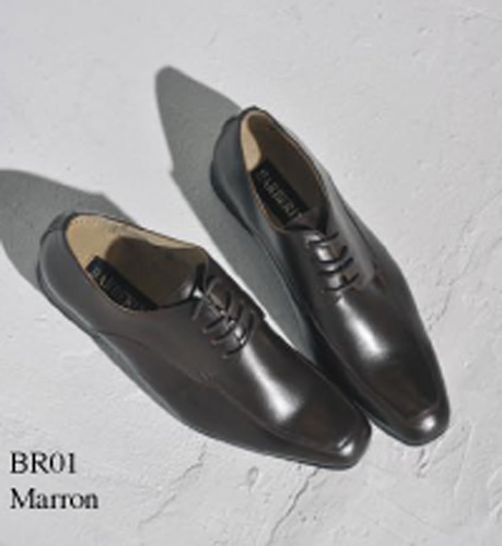 Chaussures marron à lacets