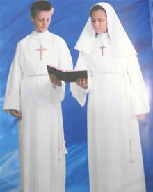 Aube de communion pour garcon