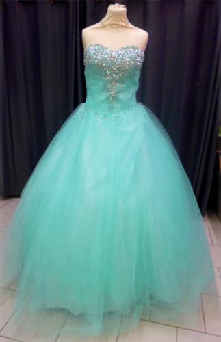 Robe 1162 turquoise