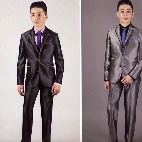 Costume Nathan gris