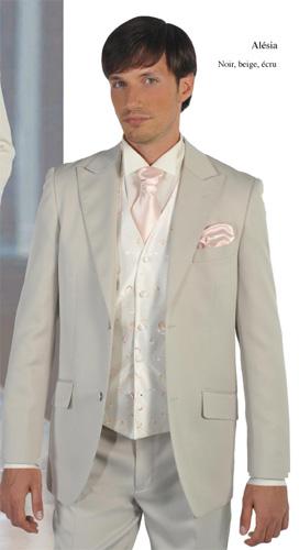 Costume  Stard deux pièces gris clair