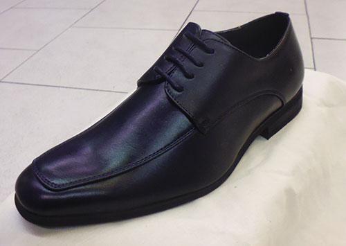 Chaussures à lacets bleu marine
