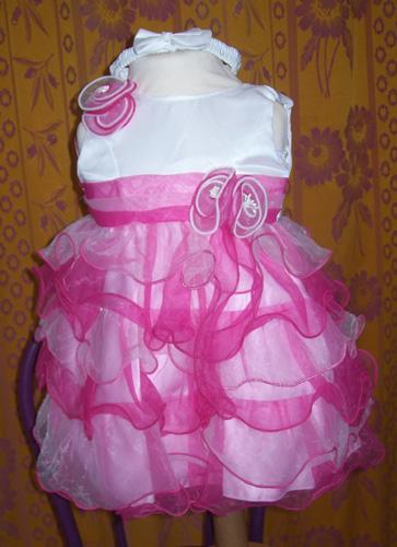 Robe 671 rose-fushia