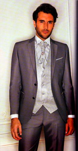 Costume 5 pièces gris Jacob coloris gris