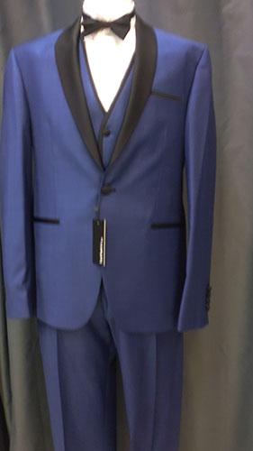Costume trois pieces Bruno bleu marine