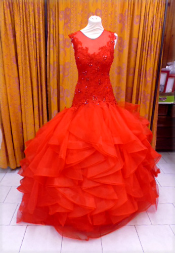 Robe A88 rouge