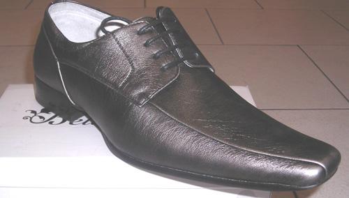 Chaussures grises argentées BR08