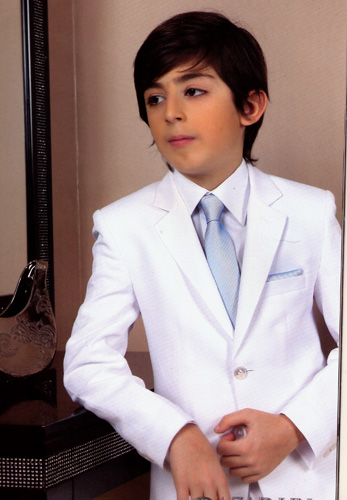 Costume facon lin Azad 555 blanc