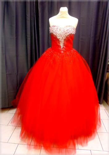 Robe 1162 rouge