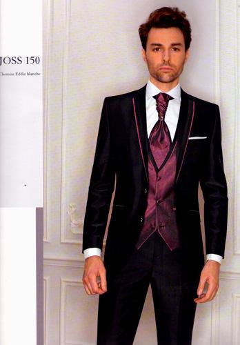 Costume 5 pieces Joss noir