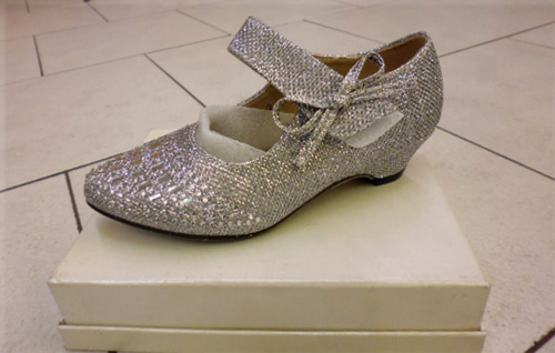 Chaussures princesse agentée